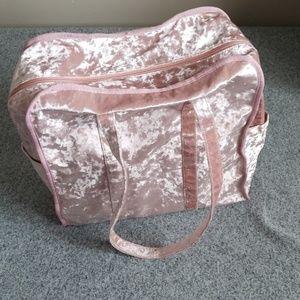 Handbags - Crushed velvet tote